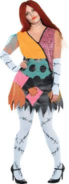 Adult Sally Costume Plus Size - The Nightmare Before Christmas ...