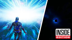 Fortnite Fans in Shock After Black Hole Event - YouTube