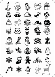 compare prices on christmas design templates online shopping buy 2014 new 2pcs lot christmas design steel stamping konad stamp nail art 21 14 5