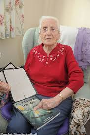 <b>Grandmother</b>, 99, receives love note wartime fiance penned 70 ...