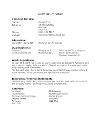resume example work experience resume example work experience ffc       resume with work