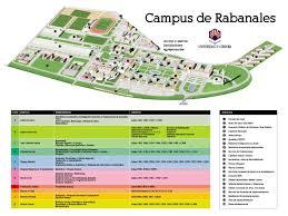 Plano General Campus de Rabanales - Universidad de Córdoba