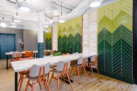 soho south coworking office space wework new york city broadway green office furniture