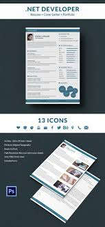 net developer resume cover letter portfolio template net developer resume cover letter portfolio template
