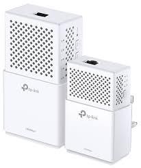 Wi-Fi+<b>Powerline адаптер TP</b>-<b>LINK</b> TL-WPA7510 KIT — купить по ...
