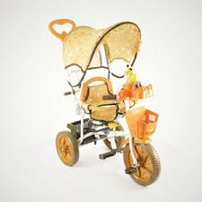 <b>Трехколесный велосипед JAGUAR</b> (<b>MS</b>-<b>0737</b>) коричневый купить ...