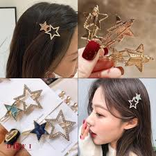 DDFI  Stars <b>hollow</b> diamonds folder hairclip C4C05 | Shopee Malaysia
