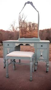 annie sloan chalk paint antique vanity with stool bench painted chalk paint