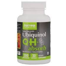 Ubiquinol, <b>QH</b>-<b>Absorb</b>, <b>200</b> mg, <b>30</b> Softgels - iHerb
