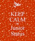 junior status