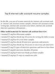 topinternetcafeassistantresumesamples lva app thumbnail jpg cb