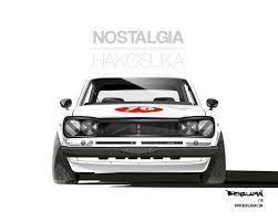 <b>Hakosuka GT-R</b> Art by Benslamin | Automotive illustration, Art cars ...