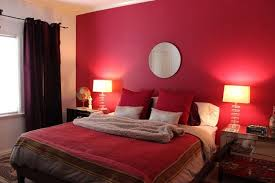 red wall paint black bed: red bedroom paint ideas endearing red paint for bedroom amazing small bedroom decoration ideas