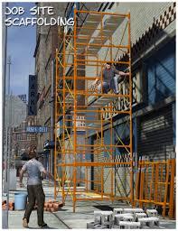 job site scaffolding d models and d software by daz d job site scaffolding in vendor firstbastion 3d models by daz 3d