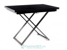 Купить <b>стол</b>-<b>трансформер Levmar Compact Gws</b> черный глянец ...