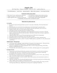 qualifications customer service resume statement of qualifications example sample resumes customer service