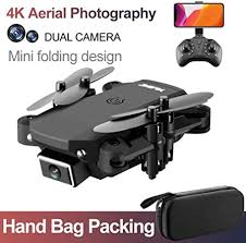 S66 <b>Foldable</b> Drone with 4k <b>Camera</b>, <b>RC</b> Quadcopter with Altitude ...