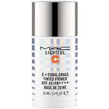 <b>MAC Lightful</b> C + <b>Coral</b> Grass Tinted Primer SPF45/PA++++ Price in ...