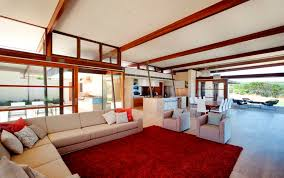 rugs living room nice:  endearing living room design with cream wooden floor cream softy sofa elegant red fur rug white