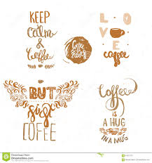 set of vintage coffee quote labels coffee quote logo templates set of vintage coffee quote labels coffee quote logo templates for coffee house coffee