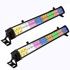 Eyourlife 2PCS 48 x 3 W LED Wash Wall Light Bar DJ ... - Amazon.com