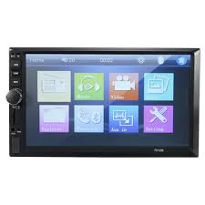 7012b 7 inch <b>double din car</b> mp5 player radio stereo bluetooth mp4 ...