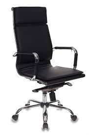 Купить <b>Кресло руководителя БЮРОКРАТ CH-993MB</b>, черный в ...