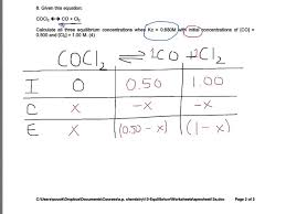 chemical equilibrium problem solving chemical equilibrium problem solving