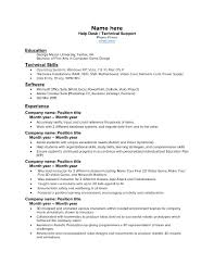 entry level help desk resume entry level help desk resume 21