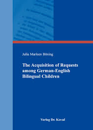 The Acquisition of Requests among German English Bilingual