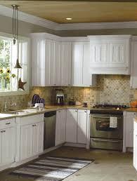 fascinating prefab cabinets with tiles backsplash and kitchen rug also under cabinet lighting for modern kitchen design ideas cabinet lighting modern kitchen