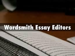 wordsmith essay editors   editing services