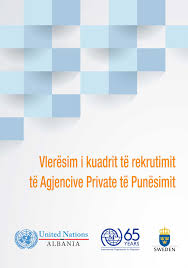 assessment of the recruitment framework of private employment assessment of the recruitment framework of private employment agencies n