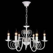 <b>Подвесная люстра</b> в стиле Прованс на 6 лампочек свечей ...
