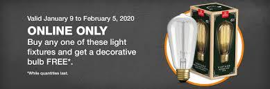 Light Bulbs: <b>LED</b>, Edison, Fluorescent & More | The Home Depot ...