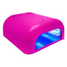 <b>УФ лампа</b> 36W <b>PLANET NAILS</b> Asn Tunnel Econom розовая ...