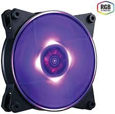 <b>Cooler Master MasterFan Pro</b> 120 Air Balance AB RGB Case Fan ...