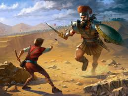 Image result for images of david killing goliath