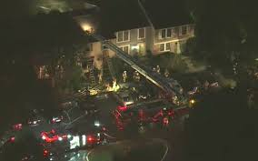 reston fire kills four pets sends husband and wife to hospital wjla fire crews battled house fire in reston va wjla