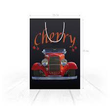 """Пакет 25x35x8cм """"<b>КРУТЫЕ ТАЧКИ</b>. <b>CHERRY</b>"""" #2774011 от robus ..."""