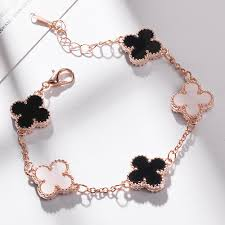 Women <b>Fashion Jewelry</b> Alloy Hollow Flower Four-leaf <b>Clover</b> ...
