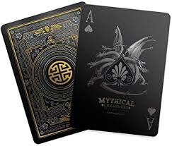 Mythical Creatures - Black Silver & Gold Edition ... - Amazon.com