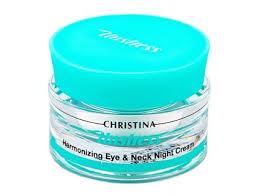 <b>CHRISTINA Unstress Harmonizing</b> Eye & Neck Night <b>Cream</b> 30ml