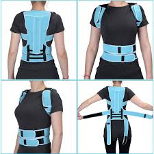 4Size <b>Adult</b> Student <b>Back</b> Posture Correction <b>Brace</b> Shoulder <b>Waist</b> ...