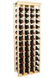 Wooden <b>48</b> Wine Bottle Kitchen <b>Wine Rack</b> Storage Kit (Ponderosa ...