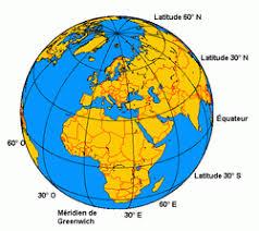 Risultati immagini per latitudine longitudine
