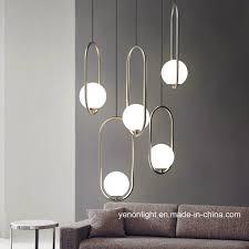 <b>China</b> Metal Glass <b>Modern Pendant Lamp</b> Brass <b>Hanging Lamp</b> ...