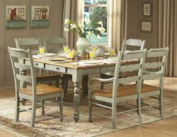 Distressed White Kitchen Table Photo Distressed White Dining Table Images