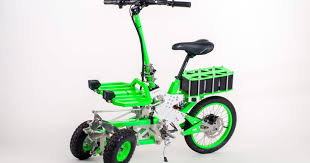 <b>Folding electric scooter</b> comes fully built or as self assembly kit