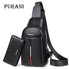 <b>PURANI</b> Famous Brand <b>Man</b> Sling Bag <b>Men Chest Pack</b> Messenger ...